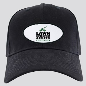 Lawn Enforcement Black Cap